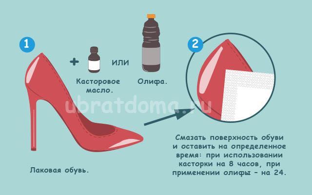Что делать, если скрипит лаковая обувь?