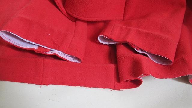 Как укоротить пальто?